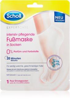 Scholl Expert Care maschera nutriente per i piedi