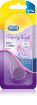Scholl Party Feet Heel Shields cuscinetti in gel per talloni