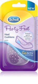 Scholl Party Feet Heel Cushions gelové polštářky pod patu