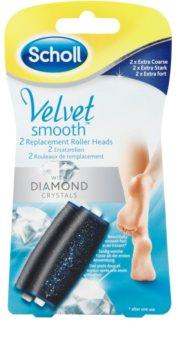 Scholl Velvet Smooth náhradní hlavice do elektrického pilníku na chodidla
