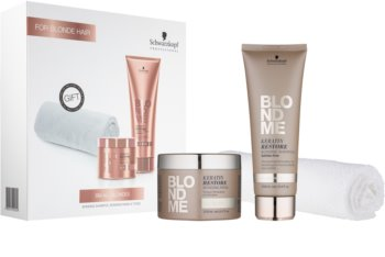 Schwarzkopf Professional Blondme lote cosmético para cabello rubio