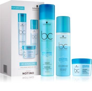 Schwarzkopf Professional BC Bonacure Hyaluronic Moisture Kick lote de regalo I. (para cabello normal y seco) para mujer