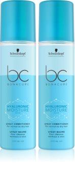 Schwarzkopf Professional BC Bonacure Hyaluronic Moisture Kick kosmetická sada (pro normální až suché vlasy)