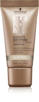 Schwarzkopf Professional Blondme Keratin Restore Shampoo for Blonde Hair