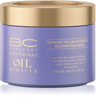 Schwarzkopf Professional BC Bonacure Oil Miracle Barbary Fig Oil Masca de par pentru par foarte uscat si deteriorat