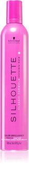Schwarzkopf Professional Silhouette Color Brilliance espuma fijadora fijación fuerte