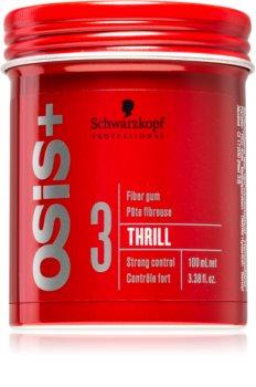Schwarzkopf Professional Osis+ Thrill Texture modelująca guma  do włosów mocno utrwalający