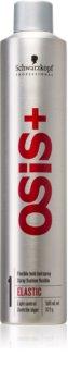 Schwarzkopf Professional Osis+ Elastic Finish lak na vlasy pro přirozenou fixaci