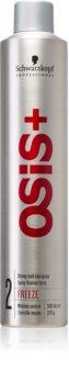 Schwarzkopf Professional Osis+ Freeze Finish lak na vlasy silné zpevnění