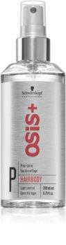 Schwarzkopf Professional Osis+ Hairbody Volume primer spay pentru machiaj inainte de coafare