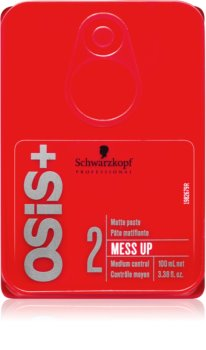 Schwarzkopf Professional Osis+ Mess Up pasta matificante  fixação média