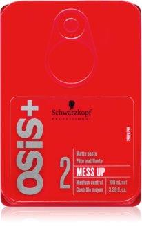 Schwarzkopf Professional Osis+ Mess Up zmatňujúca pasta stredné spevnenie