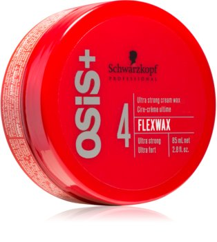 Schwarzkopf Professional Osis+ FlexWax Crèmige Wax  Ultra Strong Fixatie
