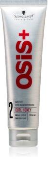 Schwarzkopf Professional Osis+ Curl Honey Muotoiluvoide Aaltoileville hiuksille
