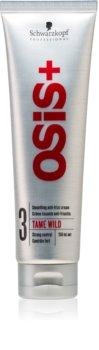 Schwarzkopf Professional Osis+ Tame Wild krem wygładzający przeciwko puszeniu się włosów