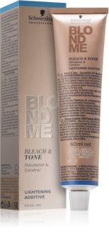 Schwarzkopf Professional Blondme осветляющая и оттеночная добавка