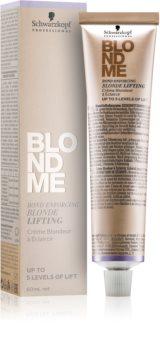 Schwarzkopf Professional Blondme crema aclaradora para cabello rubio
