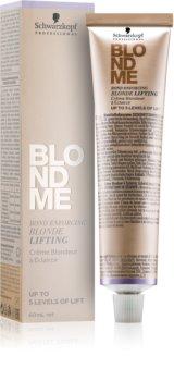 Schwarzkopf Professional Blondme posvjetljujuća krema za plavu kosu