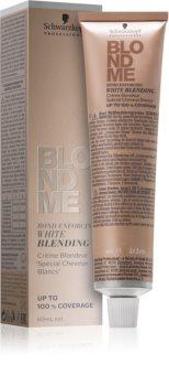 Schwarzkopf Professional Blondme изсветляващ крем за прикриване на бяла коса