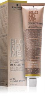 Schwarzkopf Professional Blondme creme aclarador
