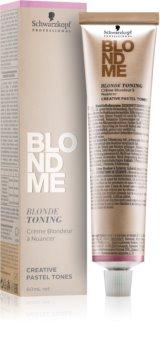 Schwarzkopf Professional Blondme creme com cor para cabelo loiro e grisalho