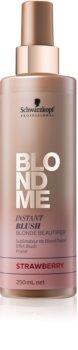 Schwarzkopf Professional Blondme spray con color para cabello rubio