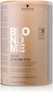 Schwarzkopf Professional Blondme безпрахова пудра премиум за изсветляване 9+