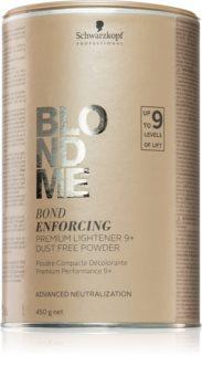 Schwarzkopf Professional Blondme Ensiluokkainen Vaalentava 9+ Pöly-Vapaa Jauhe