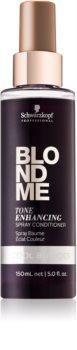 Schwarzkopf Professional Blondme acondicionador sin aclarado para tonos rubios fríos