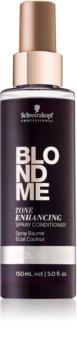 Schwarzkopf Professional Blondme bezoplachový kondicionér pro studené odstíny blond