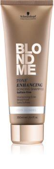 Schwarzkopf Professional Blondme sulfatfreies Shampoo für kalte Blondtöne