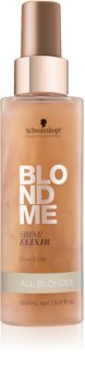 Schwarzkopf Professional Blondme еликсир без отмиване за интензивен блясък за всички руси нюанси