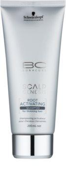 Schwarzkopf Professional BC Bonacure Scalp Genesis shampoo attivatore per capelli che si diradano