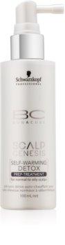 Schwarzkopf Professional BC Bonacure Scalp Genesis samozahřívací detoxikační kúra