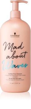 Schwarzkopf Professional Mad About Waves хидратиращ шампоан за чуплива коса