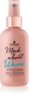 Schwarzkopf Professional Mad About Waves spray para definição de caracois