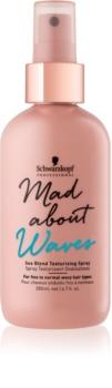 Schwarzkopf Professional Mad About Waves spray para ondas más definidas