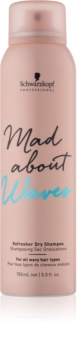 Schwarzkopf Professional Mad About Waves shampoo secco per capelli mossi