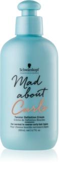 Schwarzkopf Professional Mad About Curls crema idratante per styling per capelli mossi