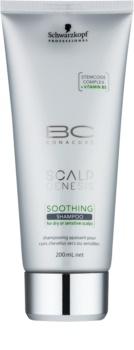 Schwarzkopf Professional BC Bonacure Scalp Genesis nyugtató sampon száraz hajra és érzékeny fejbőrre