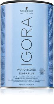 Schwarzkopf Professional IGORA Vario Blond verhelderende en kleurend poeder