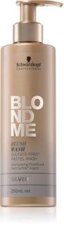 Schwarzkopf Professional Blondme tónovací šampon pro blond vlasy