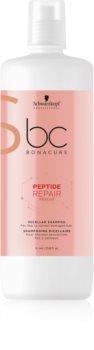 Schwarzkopf Professional BC Bonacure Peptide Repair Rescue micelární šampon pro poškozené vlasy