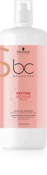 Schwarzkopf Professional BC Bonacure Peptide Repair Rescue shampoo micellare per capelli rovinati