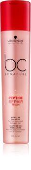 Schwarzkopf Professional BC Bonacure Peptide Repair Rescue міцелярний шампунь для пошкодженого волосся