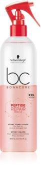 Schwarzkopf Professional BC Bonacure Peptide Repair Rescue kondicionér ve spreji pro poškozené vlasy
