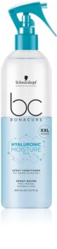 Schwarzkopf Professional BC Bonacure Hyaluronic Moisture Kick Moisturising Conditioner in Spray For Normal To Dry Hair