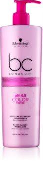 Schwarzkopf Professional BC Bonacure pH 4,5 Color Freeze Micellärt rengörande balsam För färgat hår