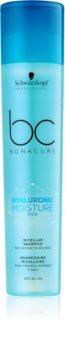 Schwarzkopf Professional BC Bonacure Hyaluronic Moisture Kick micellair shampoo voor Droog Haar