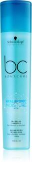 Schwarzkopf Professional BC Bonacure Hyaluronic Moisture Kick shampoo micellare per capelli secchi